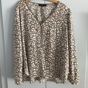 Cheetah blouse
